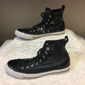 Converse All Star CHELSEA High tops size 10 women
